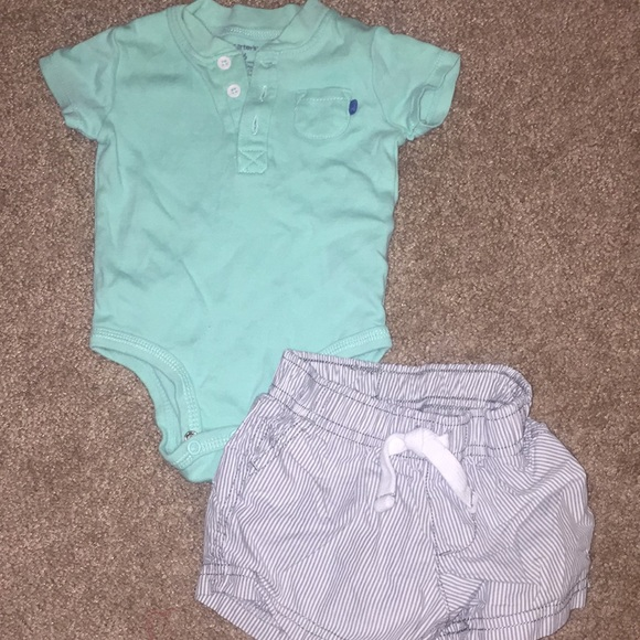 e61758c00 Carter's Matching Sets | Carters Baby Boy Outfit 6m | Poshmark